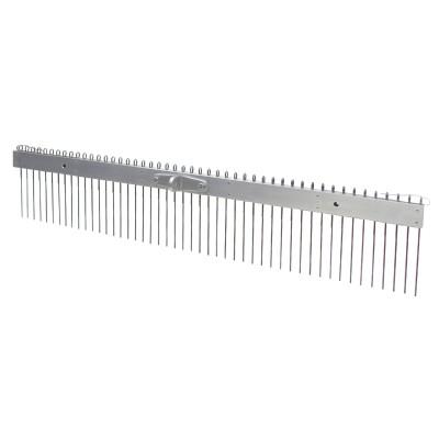 "Flat Wire Texture Broom - 1/2"" Spacing"