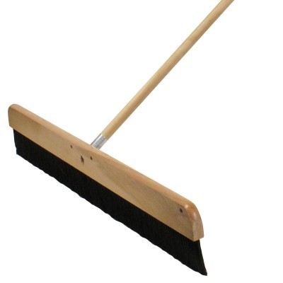 Wood Concrete Finishing Broom with Handle